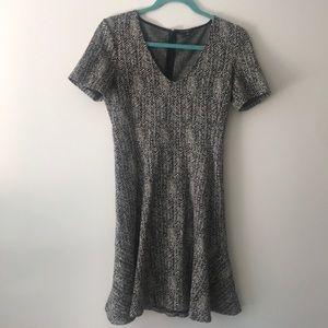 Theory sz 6 zebra pattern dress